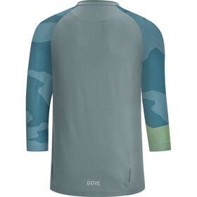 GORE WEAR C5 Trail 3/4 Jersey Men nordic blue/citrus green